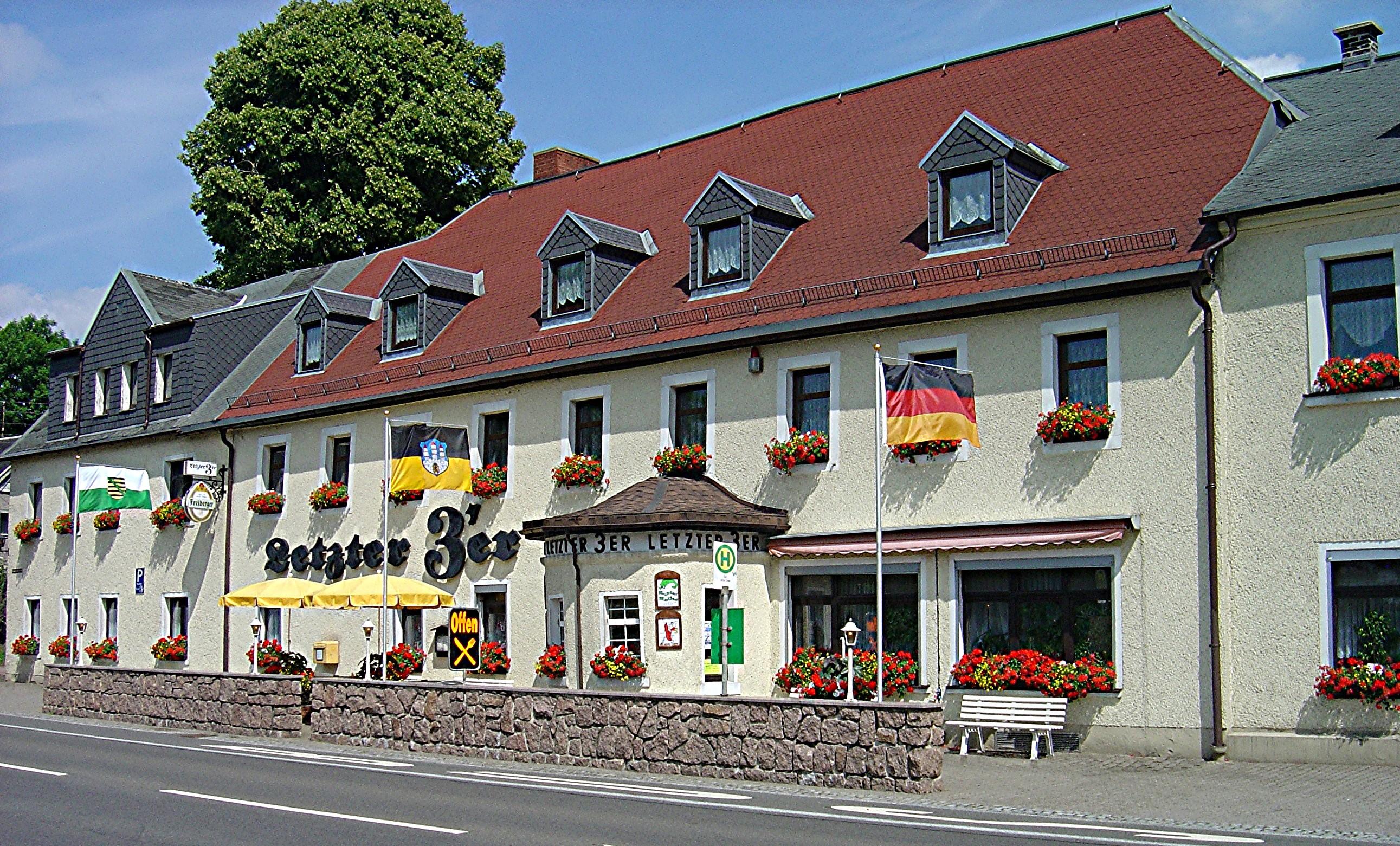 Gasthof Letzter 3er in Zug bei Freiberg